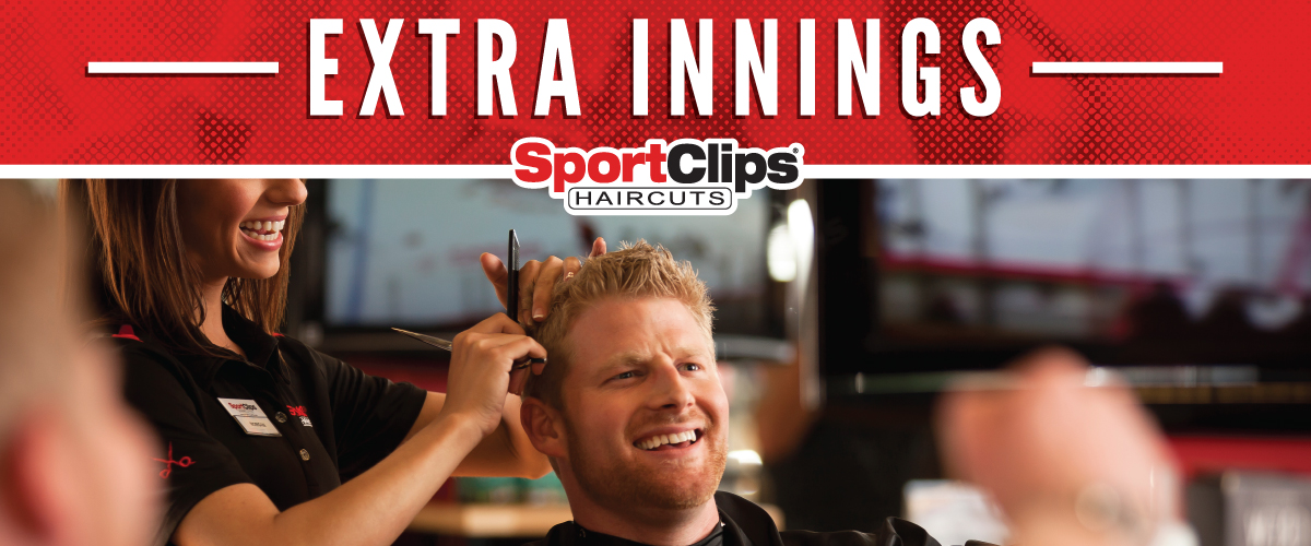 The Sport Clips Haircuts of Washington Rd. at Alexander Dr. Extra Innings Offerings